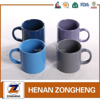 11 oz sublimation cups wholesale latte ceramic coffee mugs Coffee cups for sale