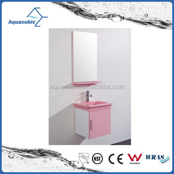 French style pink slim antique bathroom furniture bathroom vanity