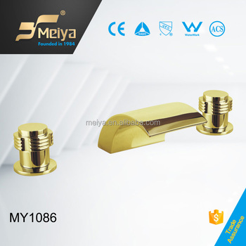 Good quality gold plated 3 hole bath accessories from for Good quality bathroom accessories
