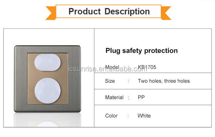 Hot Selling Child Baby Safety Protective Outlet Plug Cover