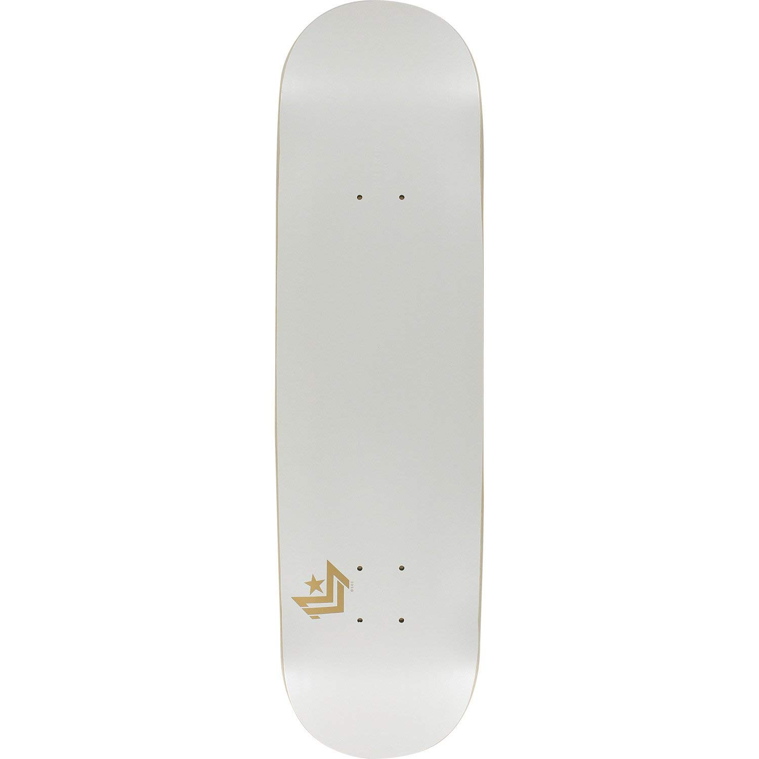 Mini-Logo SKATEBOARD DECK 170/K-15-8.25 CHEVRON PEARL WHITE w/MOB GRIP