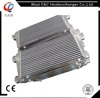 Aluminum plate heat exchanger for alfa laval& bar and plate intercooler racing parts