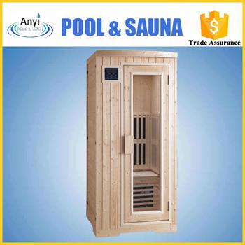 one person home sauna