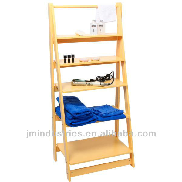 Wooden Ladder Shelf with FSC Certificate