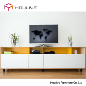 Factory hot sale living room TV stand wall cabinets / furniture