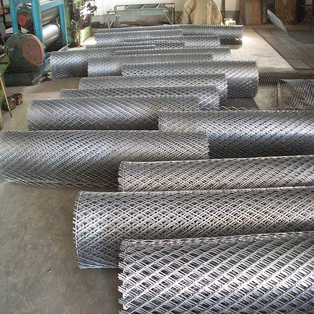 Electro Galvanized Perforated Expanded Metal Mesh