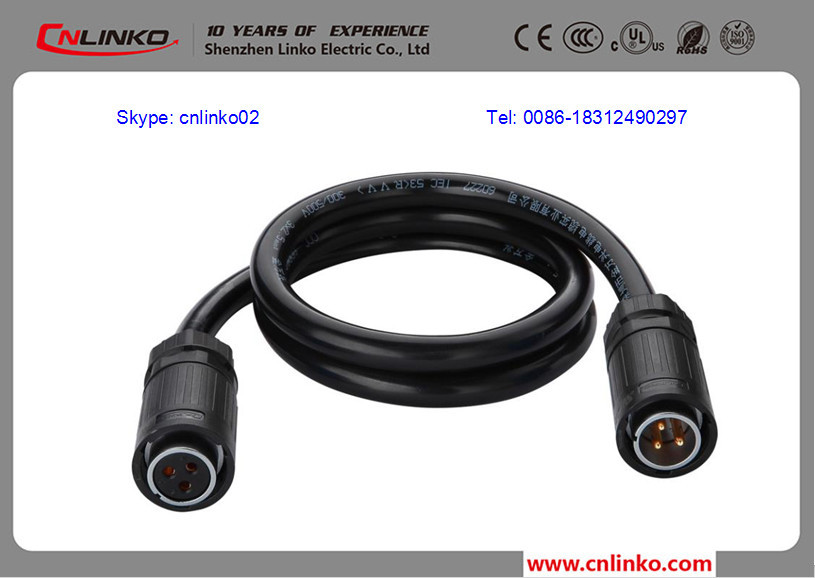 Types Of Electrical Connectors Led Cable Ip68 Quick Connect M20 ...