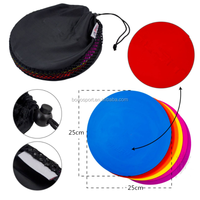 Flat Spot Markers Agility Dots Football Basketball Training Equipment