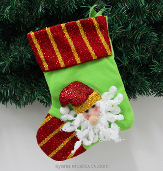 2016 caddy funny merry christmas holiday santa stockingsocks non woven material felt santa - Funny Christmas Stockings