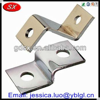 China Dongguan Made Custom Zinc Nickel Plated Steel Z