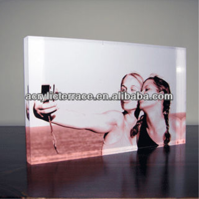 acrylic photo block,acrylic block,photo block VJB-0396