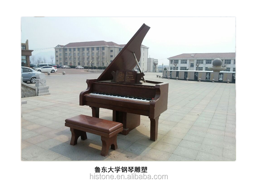 garden outdoor sculptures marble carving granite carving piano statue
