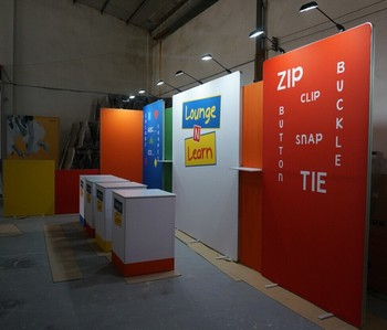 Exhibition Stand Wall : Exhibition stand for fair partition wall for international fair