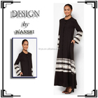 New fashion design black wholesale abaya from dubai