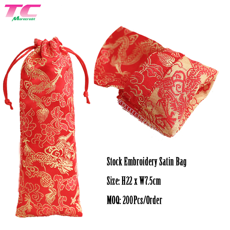 Plenty Stock Satin Drawstring Gift Bags Wholesale Party Favor Pouch Candy Bags For Wedding Birthday