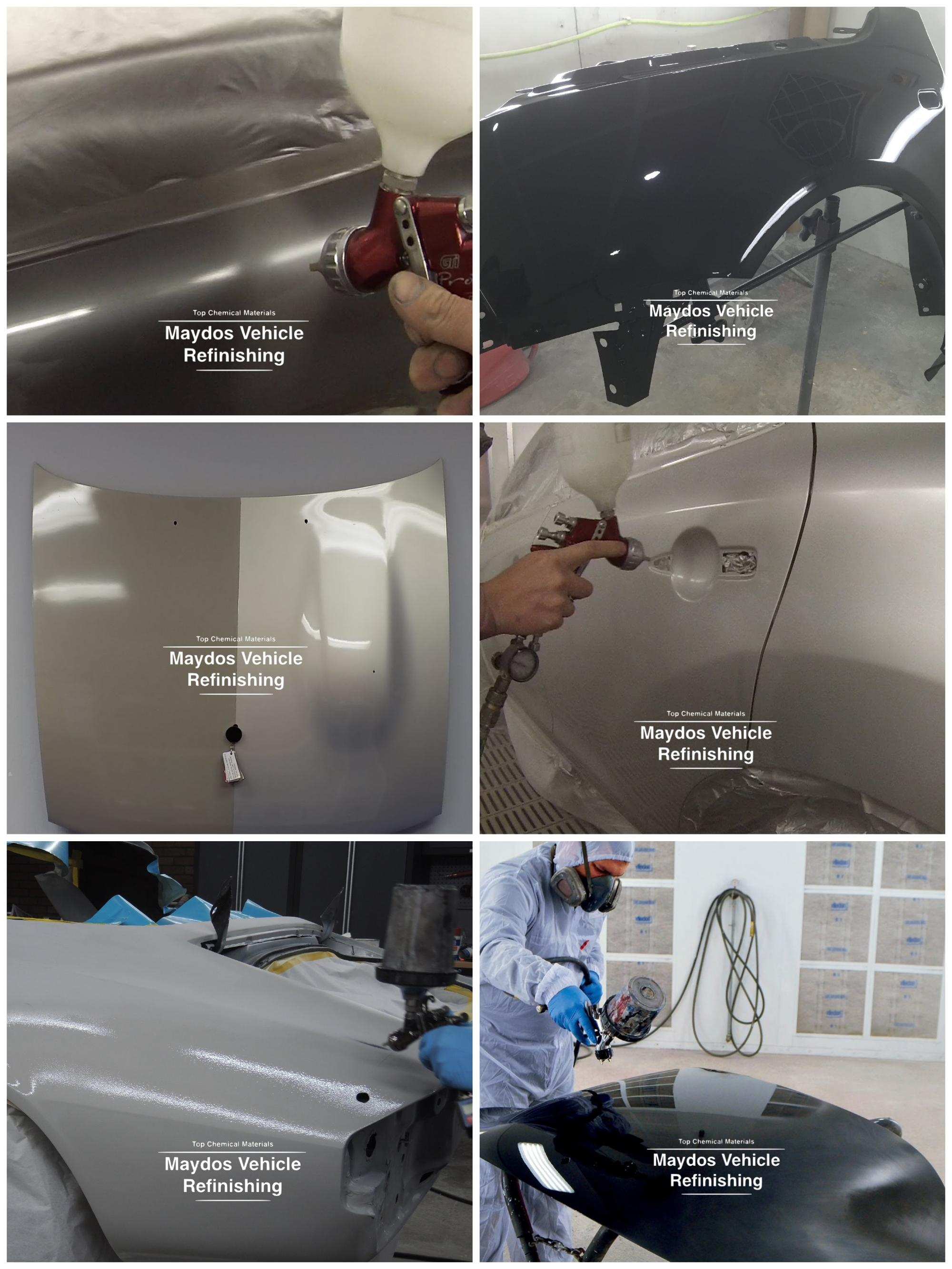 Anti Corrosion Metal Spray Coatings Synthetic Enamel Paint For Car