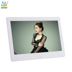 10 Inch 10Inch Gif Digital Picture Frame Jpeg Sd White Mp4 Mp3