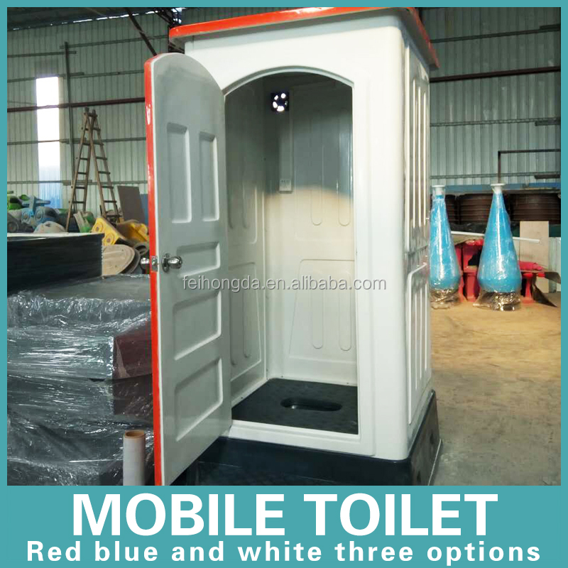 prefab construction site protable outdoor moible toilet