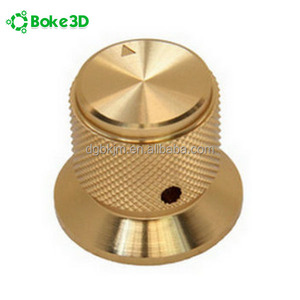 Custom CNC knurled brass parts / CNC turning brass inserts parts