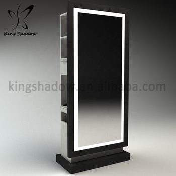 2019 modern salon stations hair salon mirrors hairdressing mirrors stations with cabinet