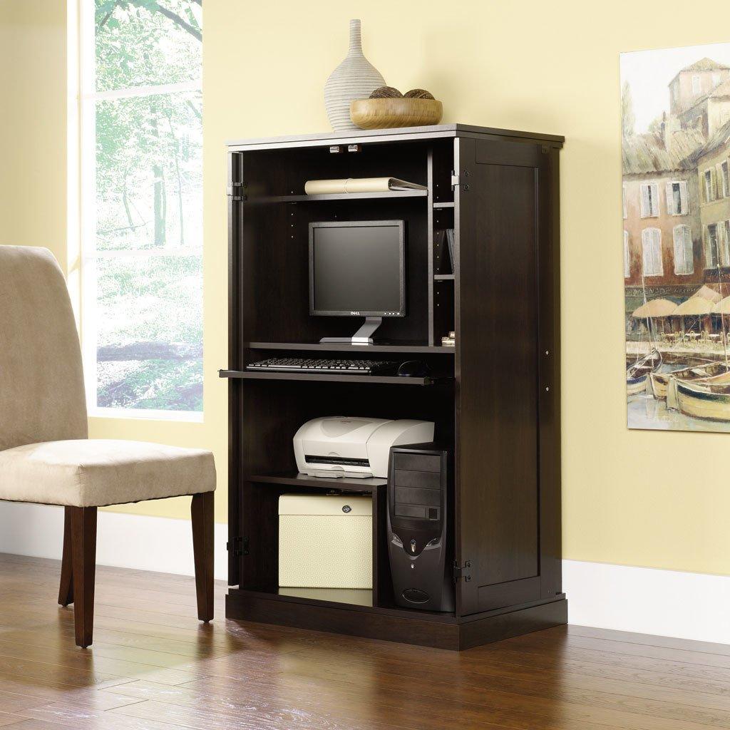 Buy Pemberly Row Executive Furniture Hidden Computer Workstation