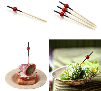 Decorative Party Picks Disposable Bamboo Picks Home