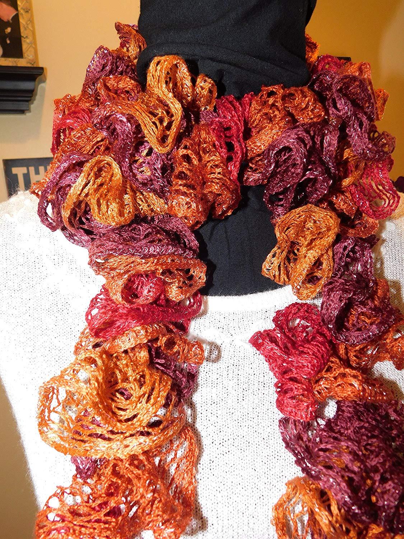 Cheap Crochet Scarf Ruffle, find Crochet Scarf Ruffle deals