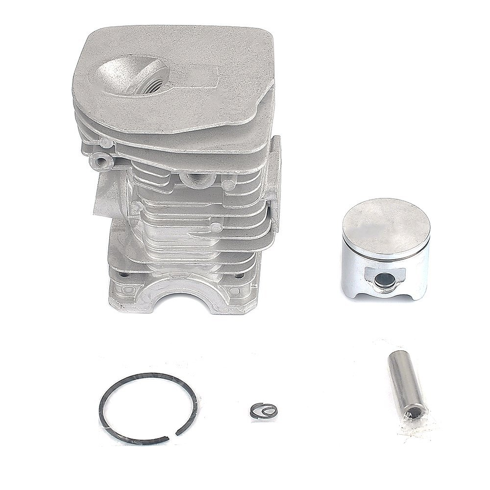 Savior 42mm(High) Cylinder Piston Rebuild Kit Ring Pin Clips Assembly for Husqvarna 340 345 Chainsaw Replace 503 87 02 76