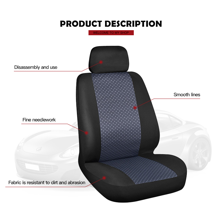 Hot sell washable funny car seat covers design