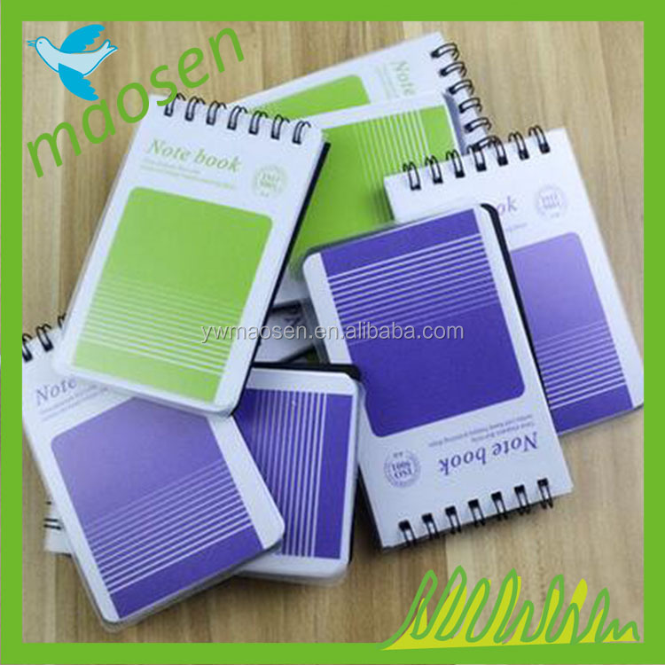 Custom PP cover corporate gifts soft notebooks, diaries