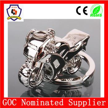 Hh-kc-393 Huahui Gold Supplier Custom Motorcycle Shape Keychain ...