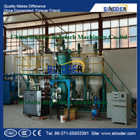 Best price and best service coconut oil refinery ,sesame oil refining