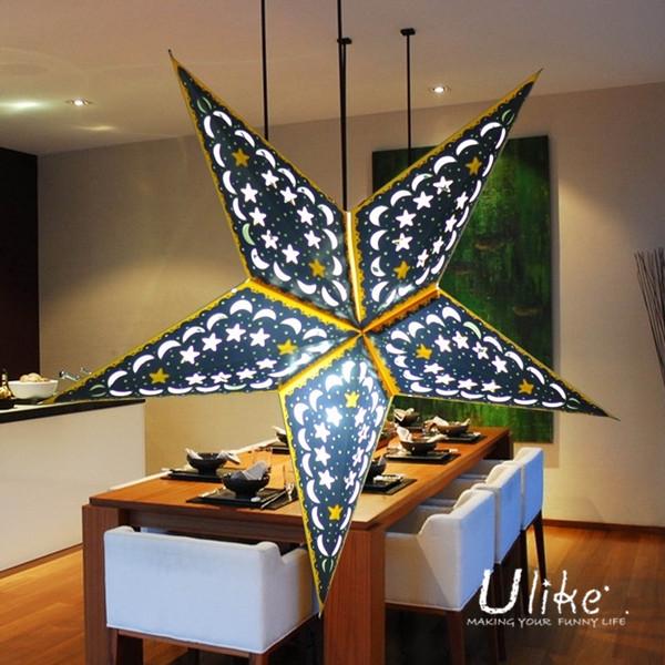 Decorative Lamp Handmade Shining Star