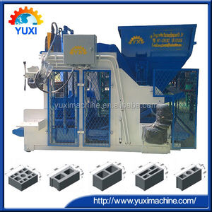 Turnkey supply egg laying cement brick manufacturing machine/hollow used concrete block processing for mobile brick machine