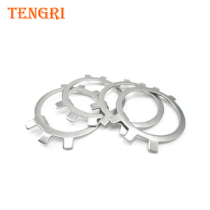 Shanghai Tengri Company GB858 Tab washers for round nut for stainless steel