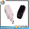 High-class Super Fast Portable mobile phone charger 5v 2a 1a usb wall charger