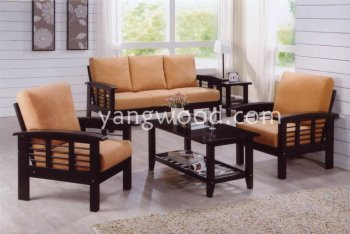 9918 Maharani Sofa Modern Home Solid Wood Wooden