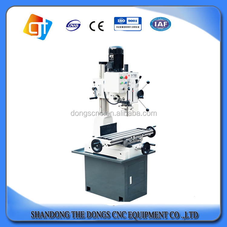 High quality vertical milling machine price list