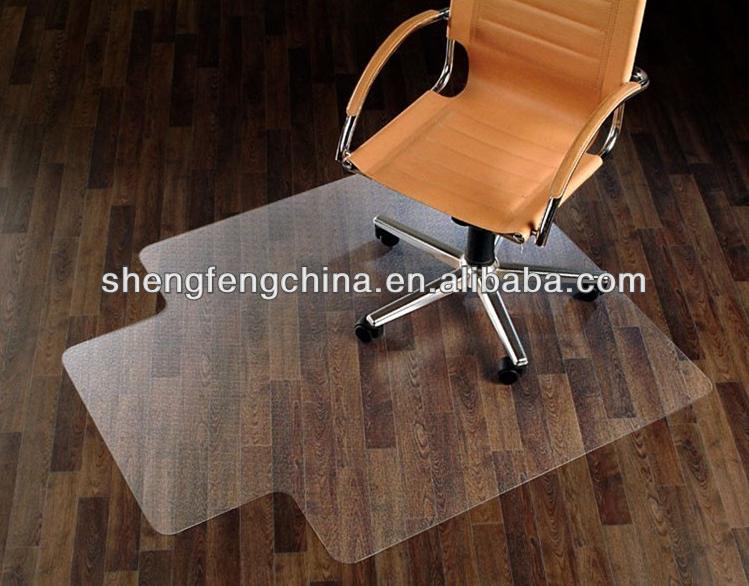 anti-scratch plastic sheet office chair floor mat - buy