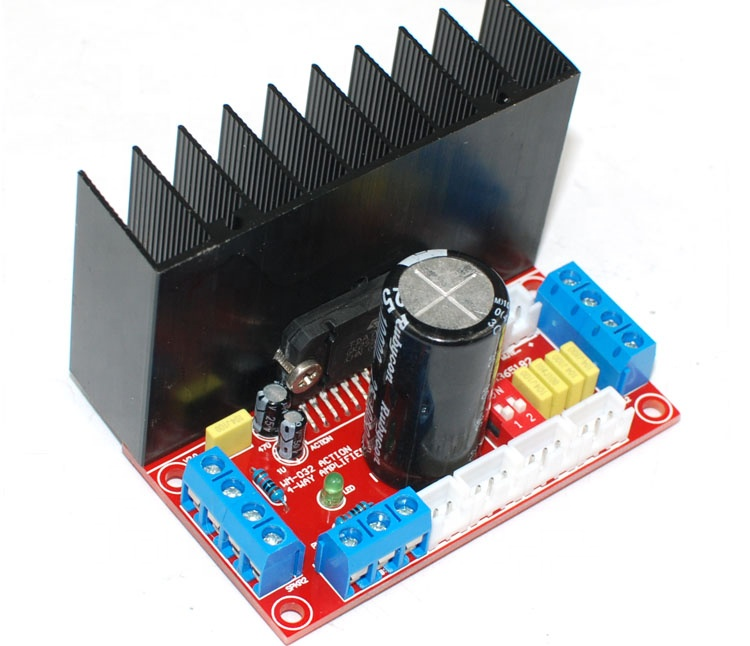 Taidacent MOSFET DC12-18V high-precision CNC TDA7850 power amplifier board 4X50W car amplifier board 4 channel amplifier board