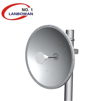 Outdoor LTE wifi 2 3-2 7GHz 30dBi Dual Parabolic dish Antenna, View dish  antenna, Lanbowan Product Details from Lanbowan Technology Ltd  on