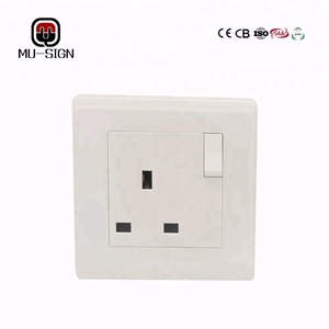British pc plate Gahana East Africa wall 13A switch socket outlet