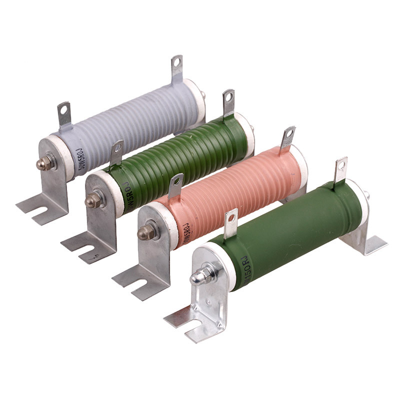 Coated High Power Ceramic Tube Wirewound Sliding Rheostat