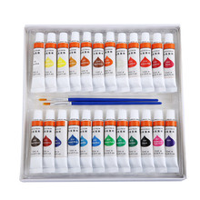 Kids School Painting class Acrylic paint 24 set with 2 free brushes