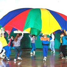 EASTONY 12' <span class=keywords><strong>Gym</strong></span> Kids Parachute