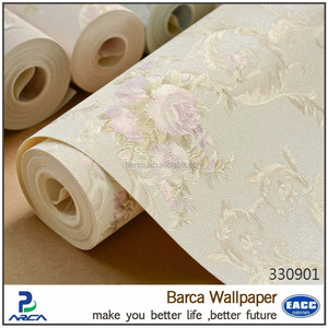 Barca 3309 series China high quality flower print wallpaper rolls (6 colors)