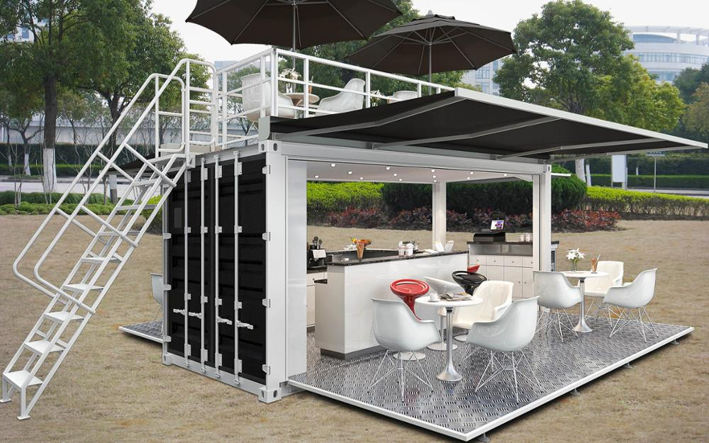 Modified Container House Price Container Coffee Shop