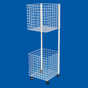 supermarket POP floor stand metal bicycle pump display rack