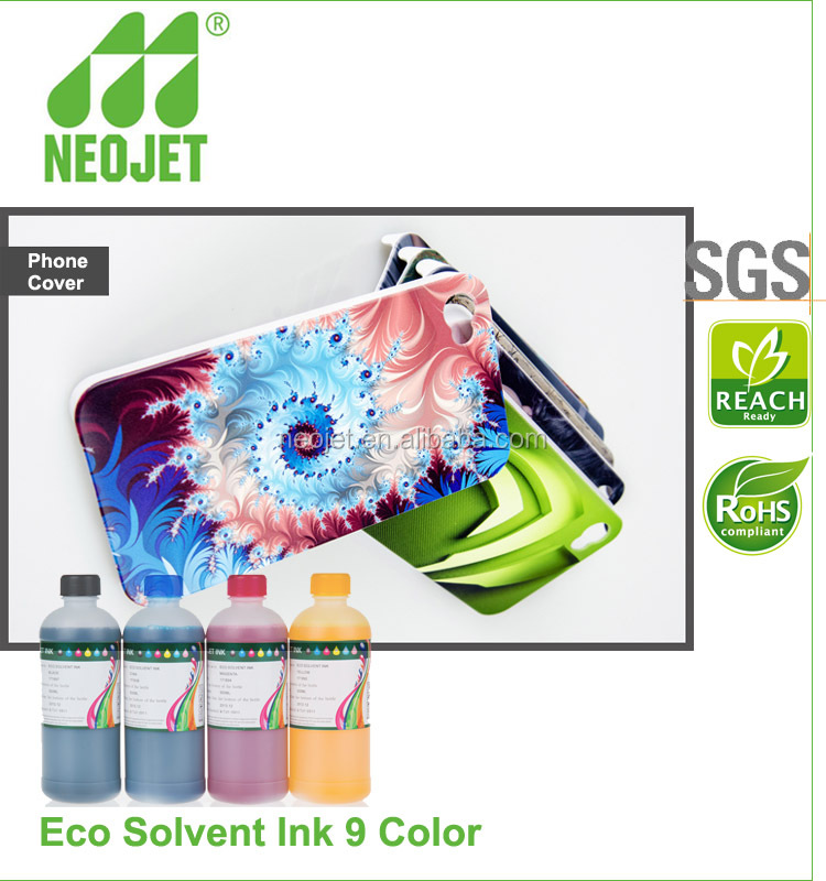 eco solvent cleaning solution and solvent dye ink for epson 7880 print head digital solvent printer