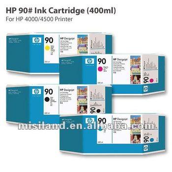 Original Hp 90# Ink Cartridge&printhead For Hp Designjet 4000/4500(original  Ink Cartridge) - Buy Ink Cartridge,Original Ink Cartridge,Hp Ink Cartridge